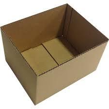 Half Slotted Corrugated Box