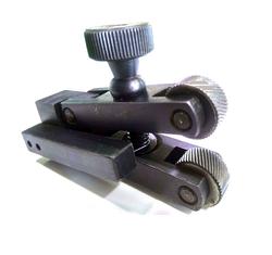 Mini Straddle Knurling Tool Holder