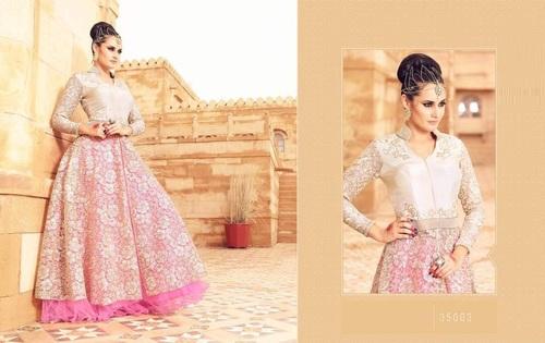 Designer Lehanga Style Suit Online
