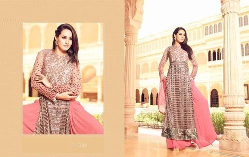 Plazzo Style Designer Suit Online