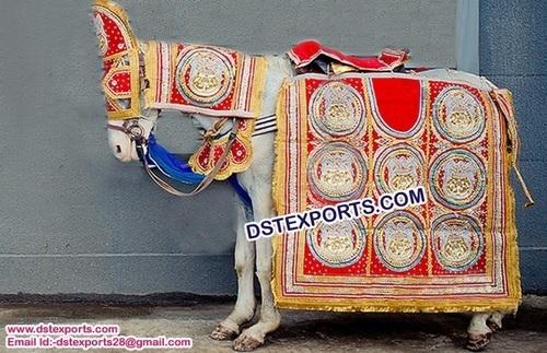 Indian Wedding Barat Horse Decoration