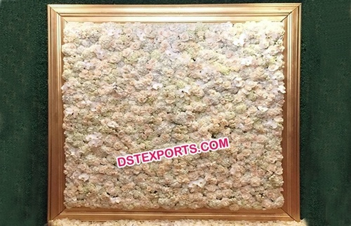 Flower Backdrop Wall for Wedding Stage Decoration
