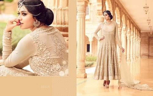 Designer Embroidered Anarkali Suit Online