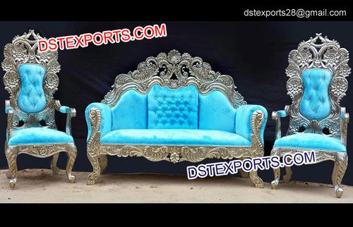 Royal Wedding Crown Sofa Set