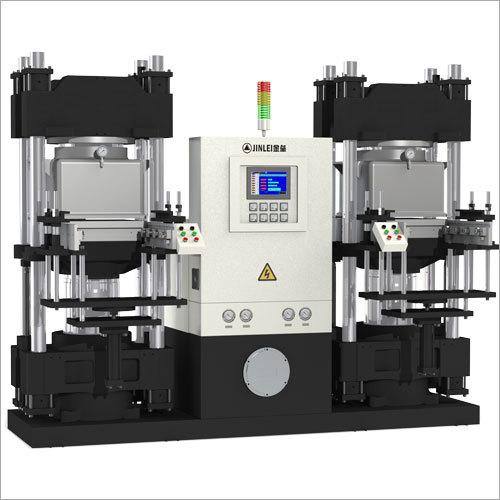 double working vacuum compression machine