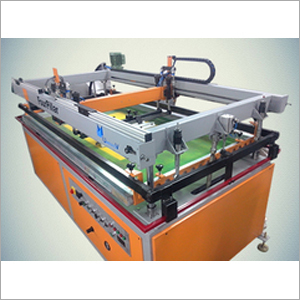 Four Pillar Screen printing Machine