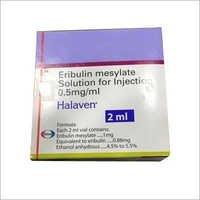 Halaven Eribulin Mesylate Injection