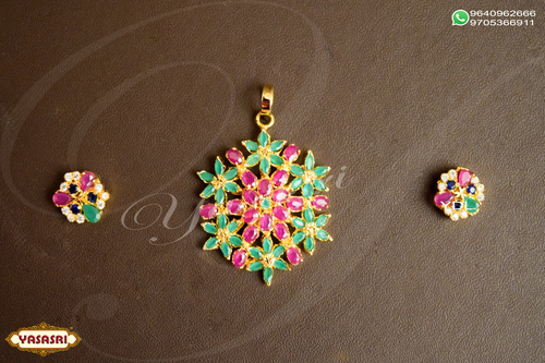 Cz Traditional Pendents