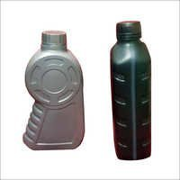 Plastic Black Lubricant Oil Bottle