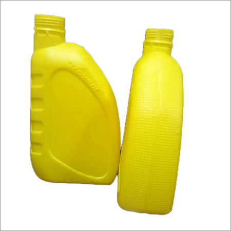 Lubricant Yellow Oil Bottle