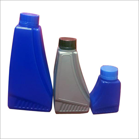 Lubricant Blue Bottle