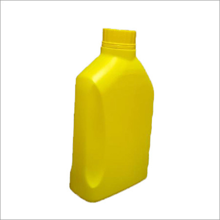 Lubricant Plastic Yellow Bottle