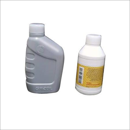 Plastic Lubricant Bottle