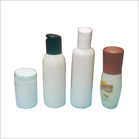 Plastic White Cosmetic Bottle