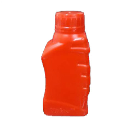 Lubricant Plastic Red Bottle