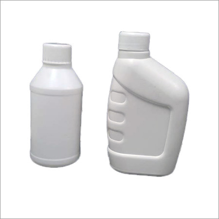 Lubricant Plastic White Bottle