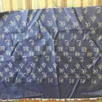 Shreeji Glitter Paste On Denim With Designs