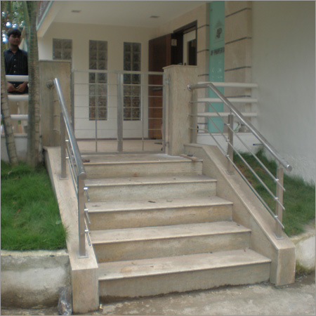 Reinforced Stainless Steel Railings