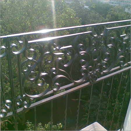 Cast Iron Work Railing