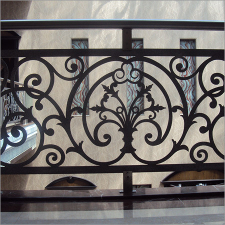 Cast Iron Balcony Railings