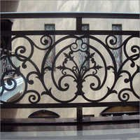 Cast Iron Balcony Railings
