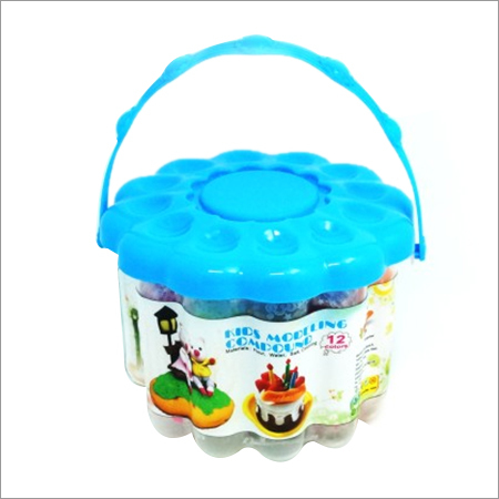 Flower-Shaped pail Play Dough