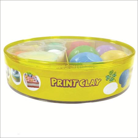 5 colors, Print Clay