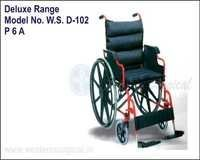 WHEEL CHAIR (DELUXE RANGE)