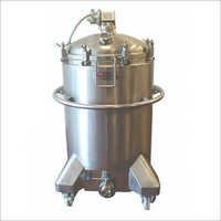 Stainless Steel Mixing Vessels