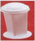 Coplin Staining Jar, Glass, High-density Polythene