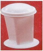 Coplin Staining Jar, Glass, High-density Polythene