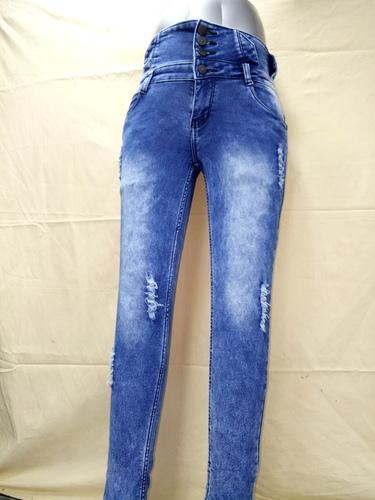 High waist Ladies jeans