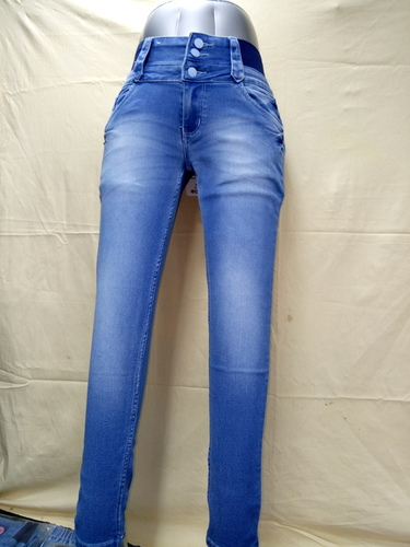 Ladies Pattern Jeans 107