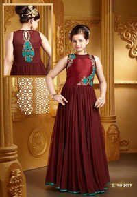 Indo western ball gowns for kids