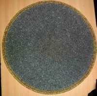 Dark Grey Beaded Placemat