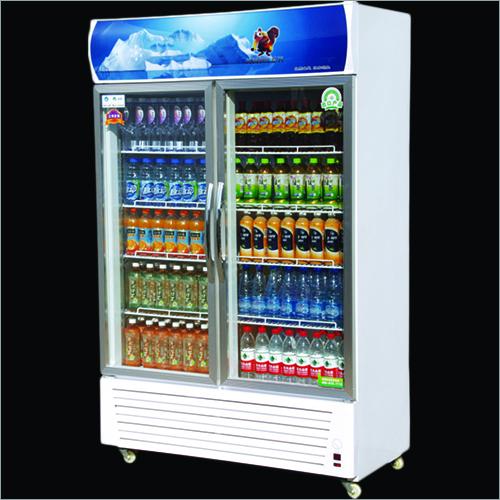 Double Door Beverage Coolers