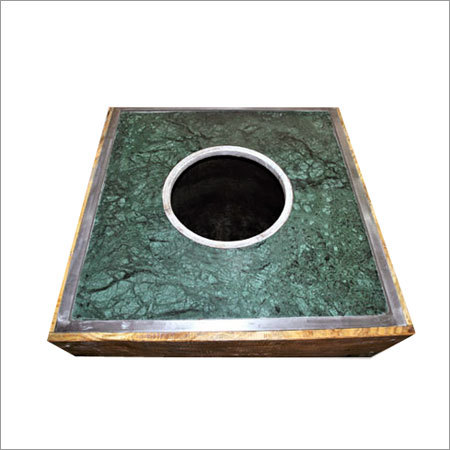 Green Marble Top Tandoor