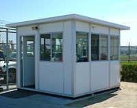 Prefab Guard Huts