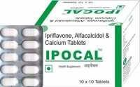 Ipriflavone, Alfacalcidol & Calcium Tablets