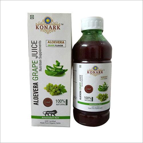 Aloevera Grapes Juice