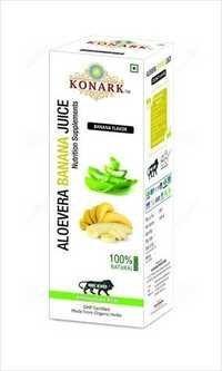 Aloevera Banana Juice