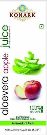 Aloevera Apple Juice