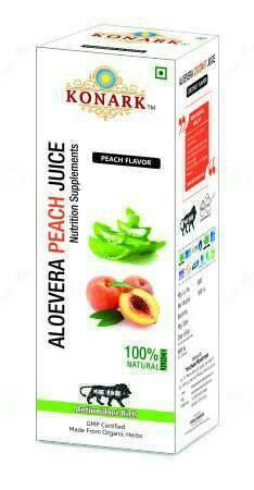 Aloevera Peach Juice