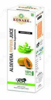 Aloevera Papaya Juice