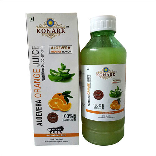 Aloevera Orange Juice