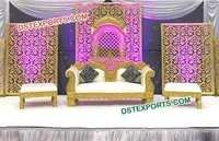 Indian Wedding Stage Backdrop
