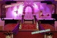 White Western Theme Wedding Decoration