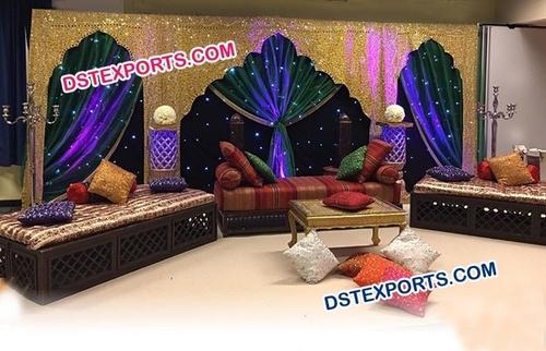 Moroccan Theme Wedding Stage Decoration