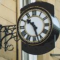 Roman Dial Outdoor Clock