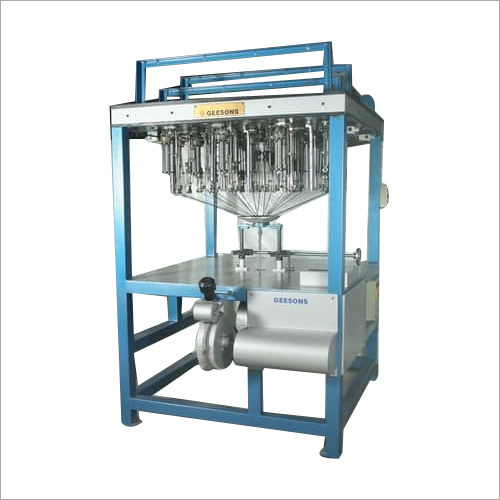 Inverted Interlock Braiding Machine